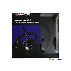 CASQUE PC USB H529 SPIDER GM